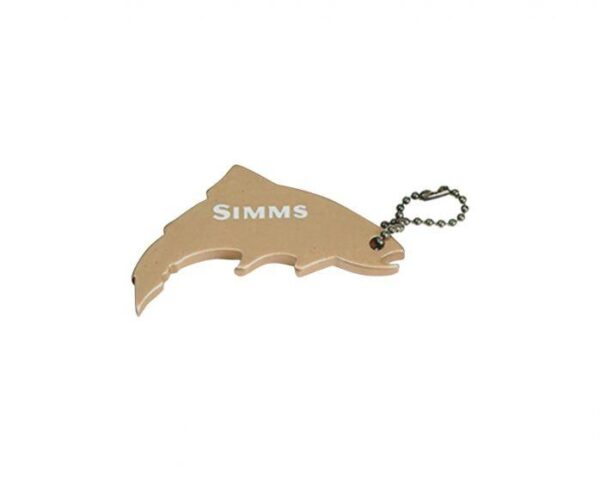 Thirsty Trout Keychain Gold